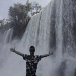 智富爸爸於阿根廷伊瓜蘇瀑布旅遊時的啟發